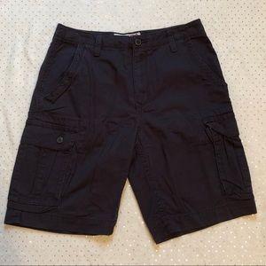 Arizona Jean Co. Cargo Dark Brown Shorts - Size 30